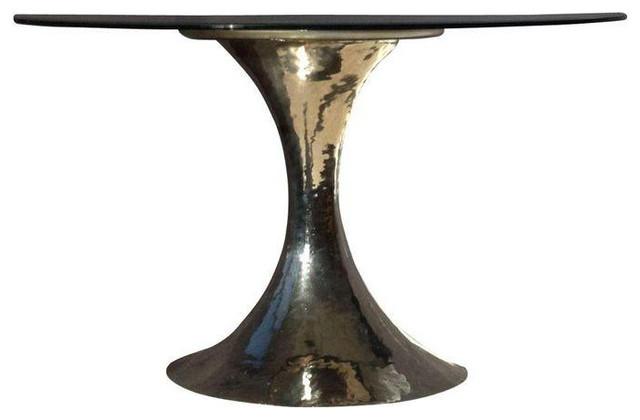 Julian Chichester Dakota Round Table In Gl 6 860 Est Retail 3 500 On C