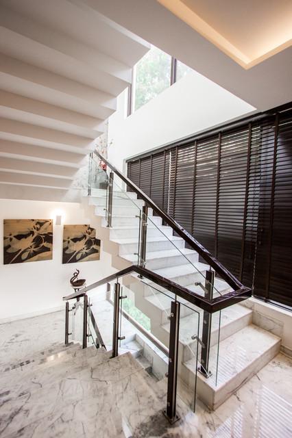 M2 House modern-staircase