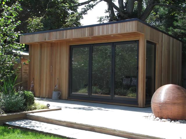 Garden room in barnet contemporary london by office for Garden rooms uk ltd