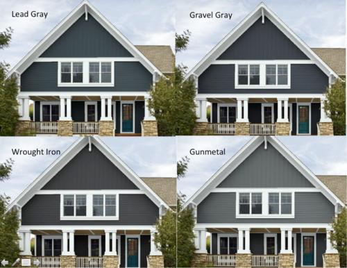 Need help deciding on an exterior house paint color!