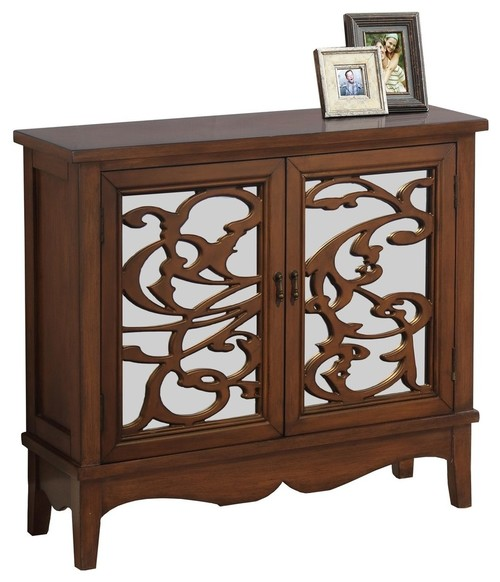 Monarch Accent Chest, Dark Walnut Finish
