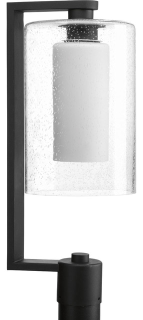 Progress Lighting P6420-31 Compel 1-Light Post Lights And Accessories, Black.