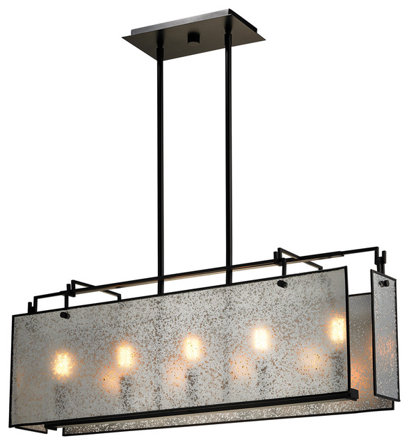 modern elk lighting lindhurst 5light island lighting