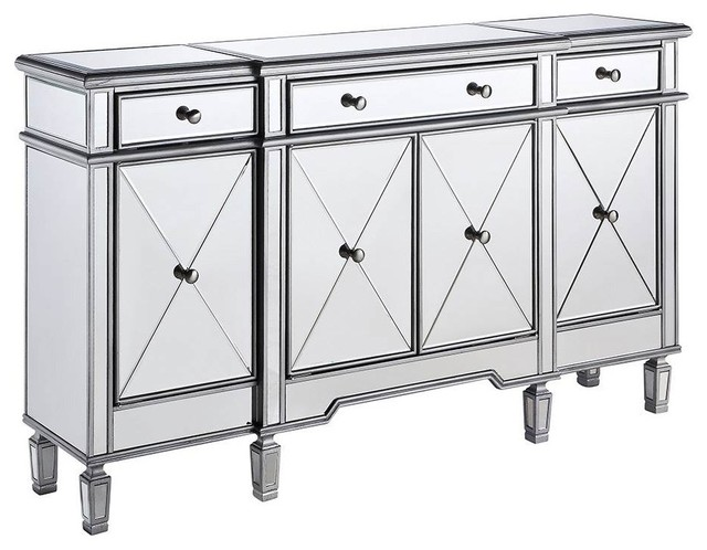 Storage Cabinet in Silver