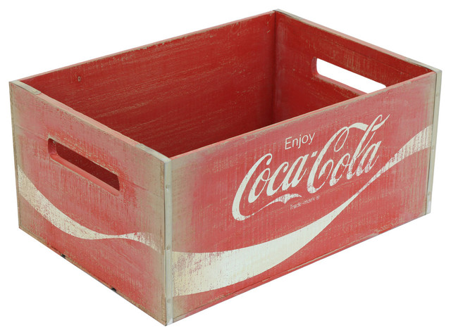 Vintage Inspired Large Coca-Cola Crate