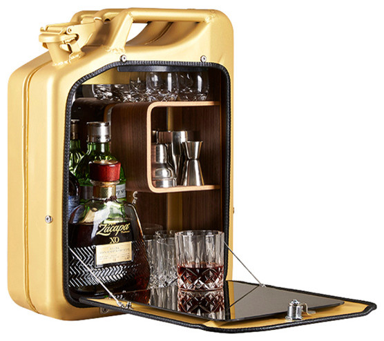 ... Jerry Can Bar Cabinet - Eclectic - Wine And Bar Cabinets - by AHAlife