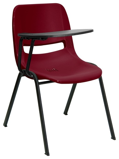 Charmant Writing Desk Chair With Right Side Arm Tablet