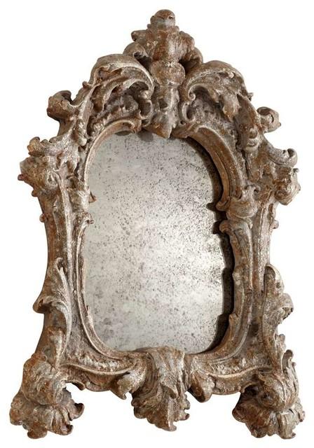 Cyan Design 05953 Avalon Mirror, Rustic Silver.