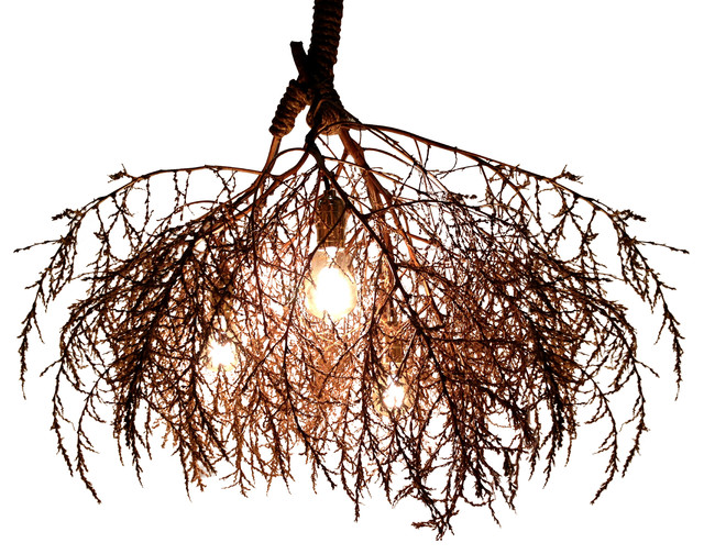 Simple Rustic Chandeliers by Same Tree