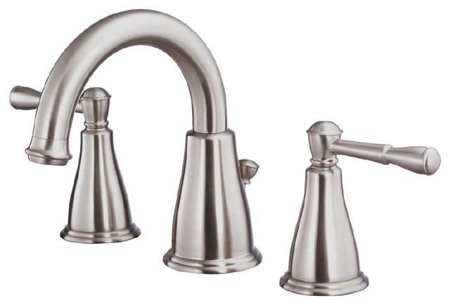 Danze Eastham Widespread Bathroom Faucet Brushed Nickel D304115bn