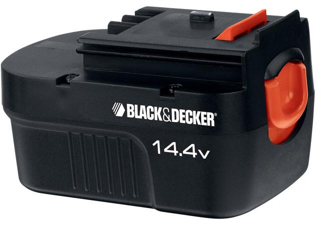 Black And Decker Hpb14 14.4 Volt Spring Loaded Slide Battery Pack.