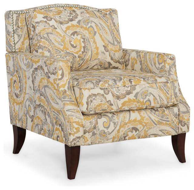 Austen Chair Buttercup Contemporary Armchairs And