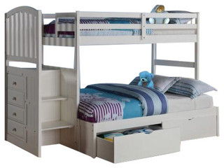 Bunk Bed Stairs & Storage In Twin/Full
