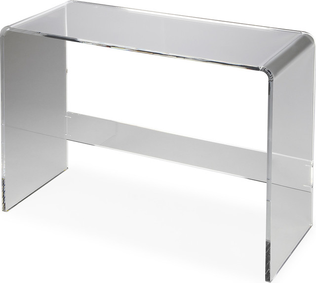 Butler Loft Crystal Clear Acrylic Console Table   Contemporary   Console  Tables   By Butler Specialty Company