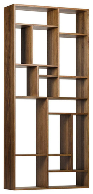 Malic Shelf, Dark Walnut.