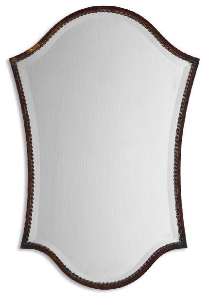 Uttermost 13584 B Abra Shapley Vanity Mirror.