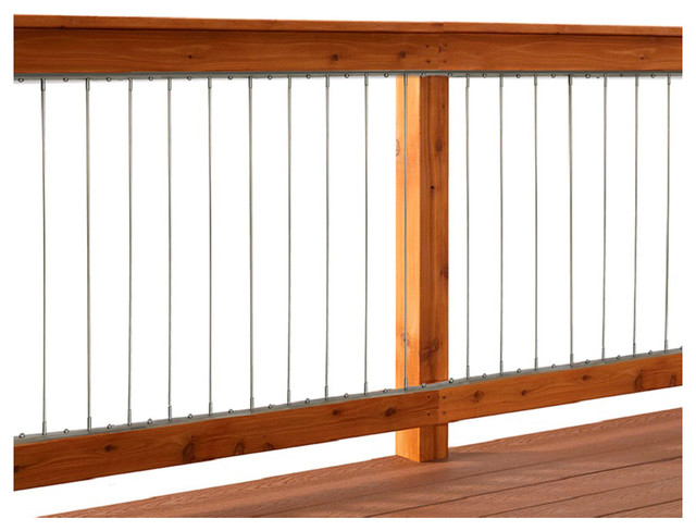 """Dolle INSTA-Rail Vertical Cable Railing Inserts for 36"""" Railings"""