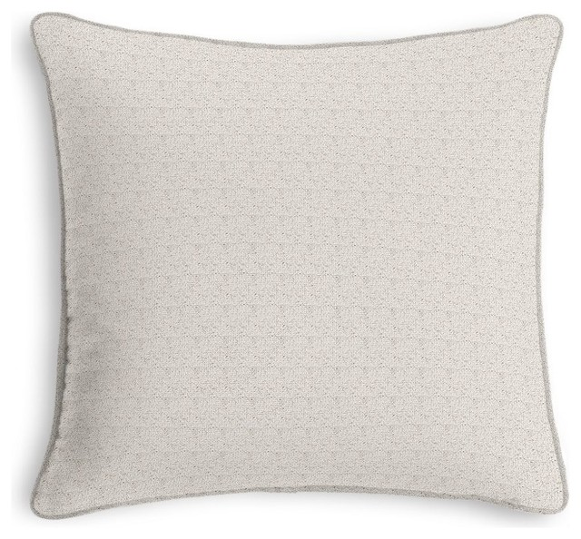 Soft Decorative Throw Pillows : Loom Decor Soft Natural Diamond Weave Throw Pillow - Decorative Pillows Houzz