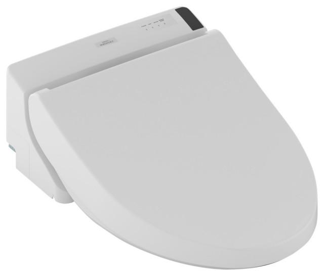 Toto Washlet C200 Electronic Bidet Seat, Elongated, Cotton White