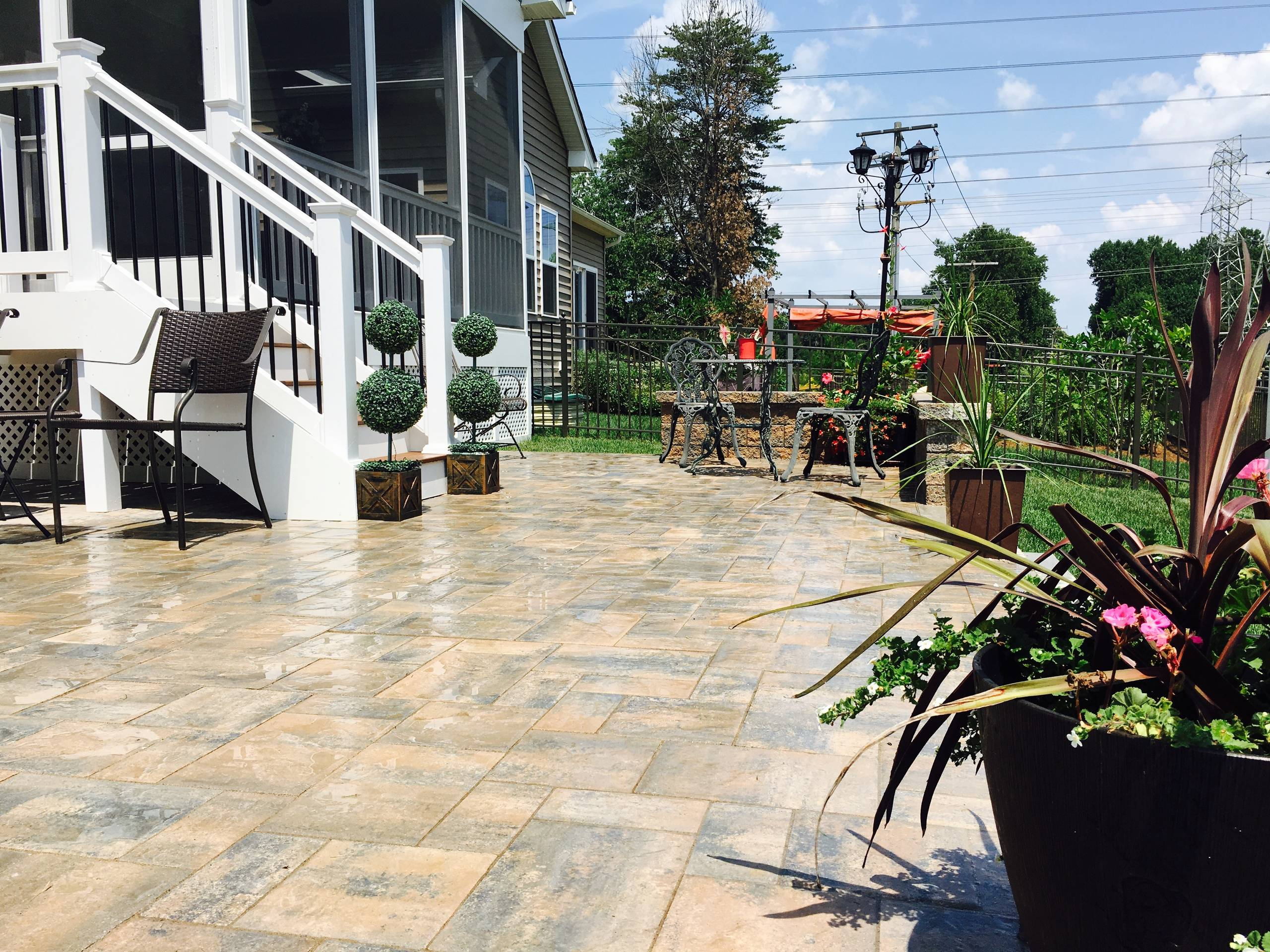 Two Rivers Patio Design