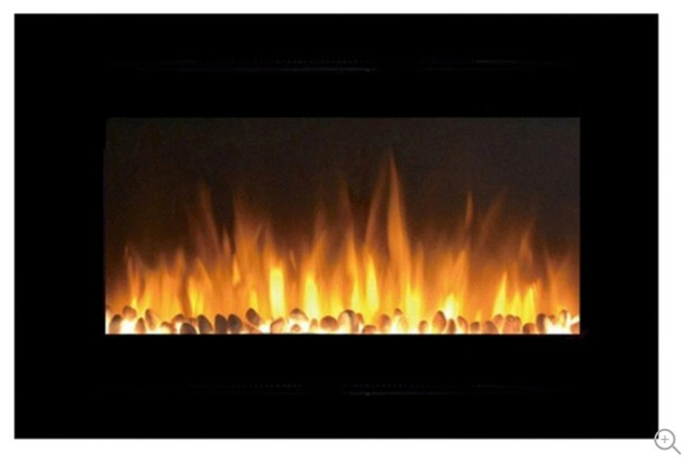 "Touchstone The Forte 40"" Recessed/wall Mounted Electric Fireplace."