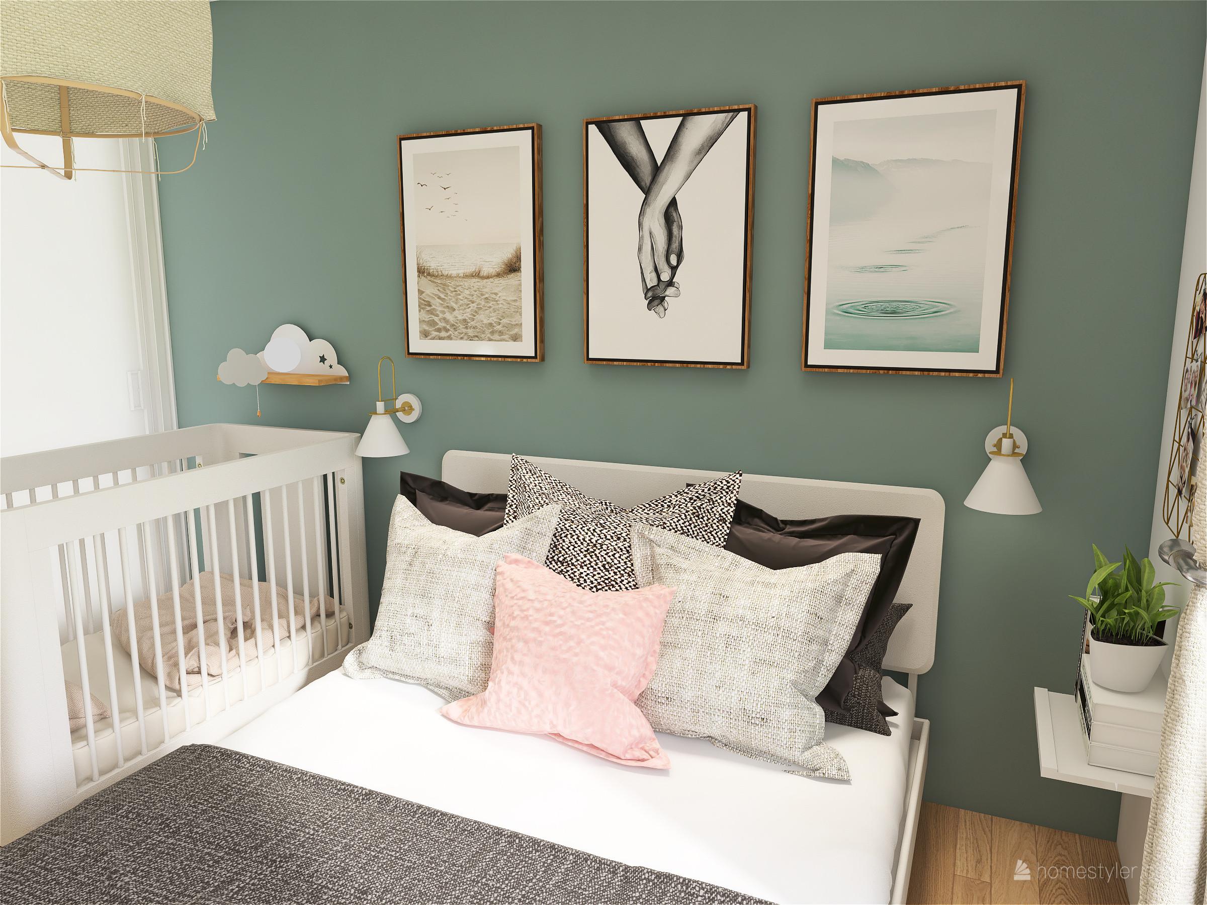 Projet Alfortville - Décoration d'une chambre parental