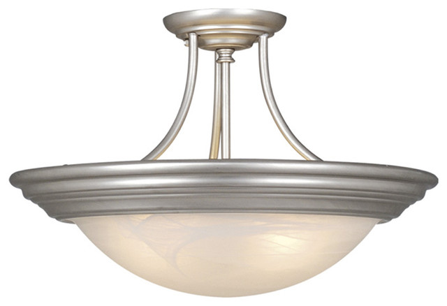 Tertial 14 Semi Flush Mount Light Transitional Flush