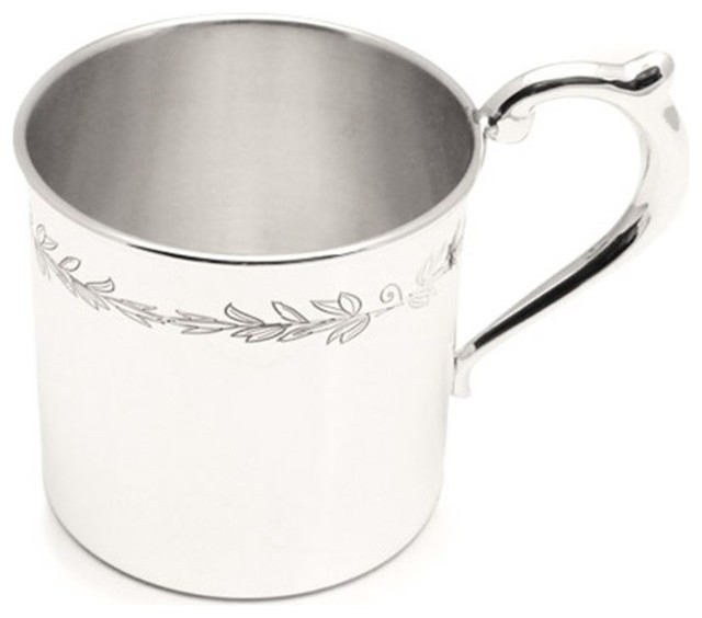 Cunill Pearls Baby Cup Sterling Silver