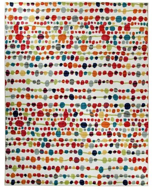delerus multicolor area rug - contemporary - area rugs - by rugpal