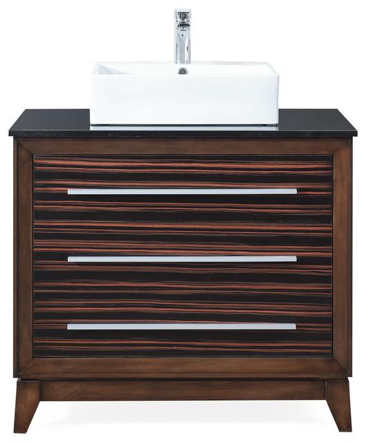 36 Stoughton Vessel Sink Bathroom, Bathroom Vessel Vanity