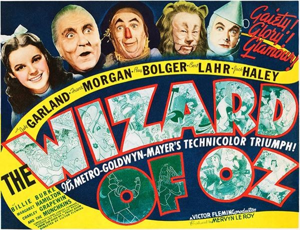 Image result for wizard of oz poster