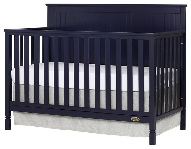 Dream On Me Alexa 5 in 1 Convertible Crib, 728-NVY