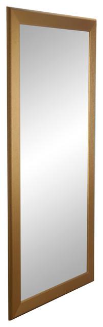 Brandtworks 32 5 X71 Designer Gold Full Length Mirror