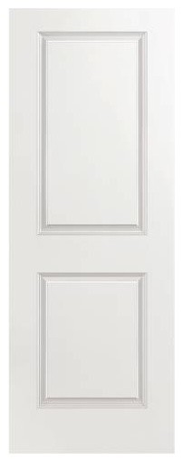 Masonite Slab Hardboard Door Primed White 34 x80  106716 transitional- interior  sc 1 st  Houzz & Masonite Slab Hardboard Door Primed White 34