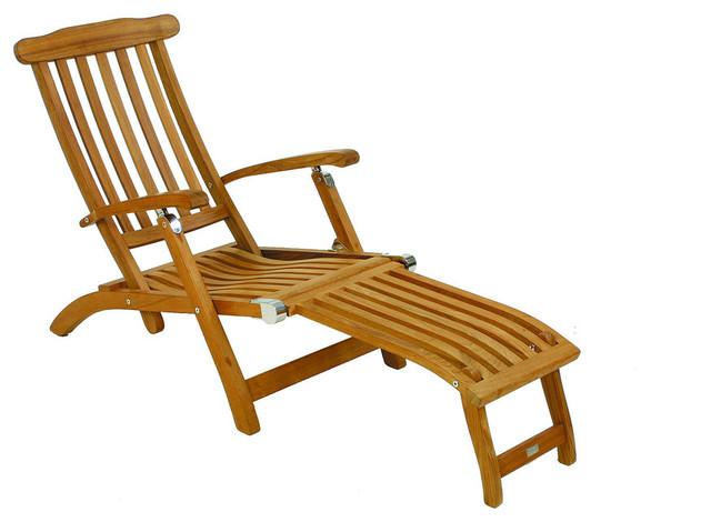 fischer mobel flores deck chair craftsman outdoor. Black Bedroom Furniture Sets. Home Design Ideas