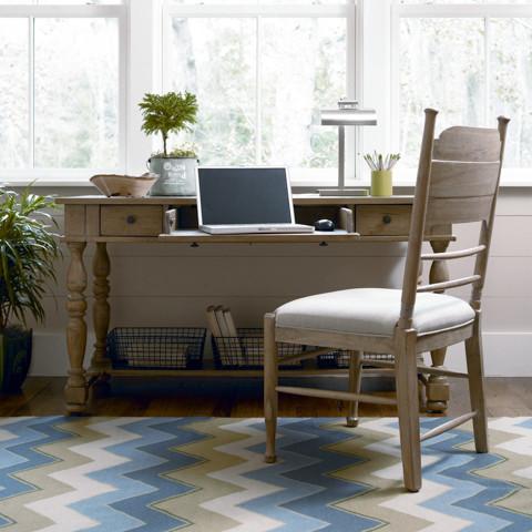 Paula Deen Working Desk in Oatmeal