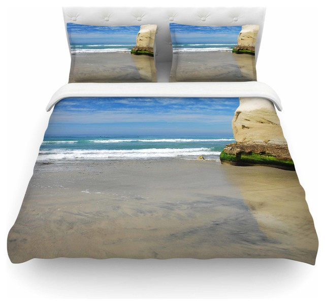 "Houses For Sale Solana Beach: Nick Nareshni ""Solana Beach Sands"" Nature Coastal Duvet"