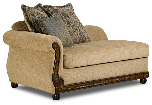 Simmons Upholstery Outback Antique Chaise.