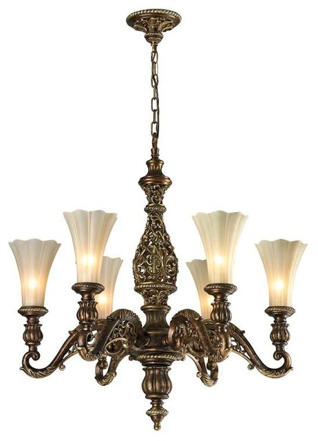 Elk Lighting 115406 Allesandria Traditional Chandelier – Traditional Chandelier