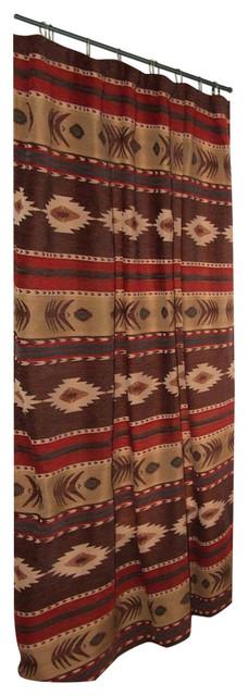 Cimarron Striped Southwest Shower Curtain