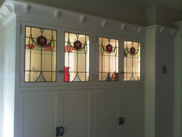 leaded glass door inserts