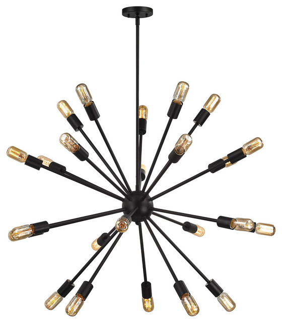 Delphine 24-Light Chandelier, Oil Rubbed Bronze
