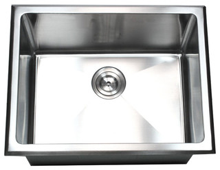 TCS Home Supplies   Undermount/Drop In Single Bowl Kitchen/Utility/Laundry