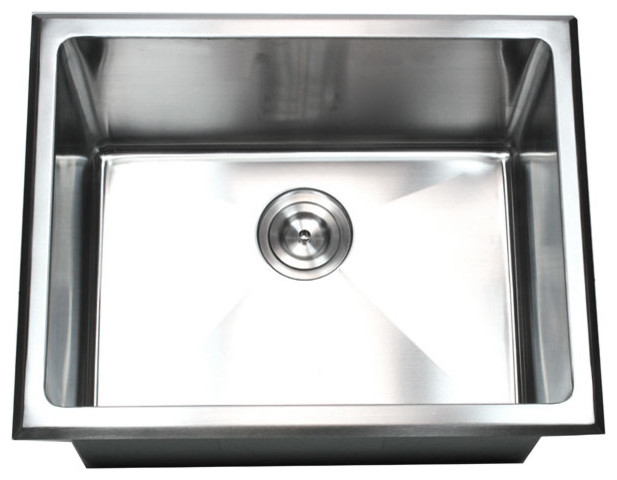 undermount/drop-in single bowl kitchen/utility/laundry sink 20mm