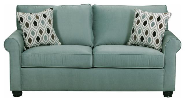 Pinyon Sleeper Sofa, Seafoam