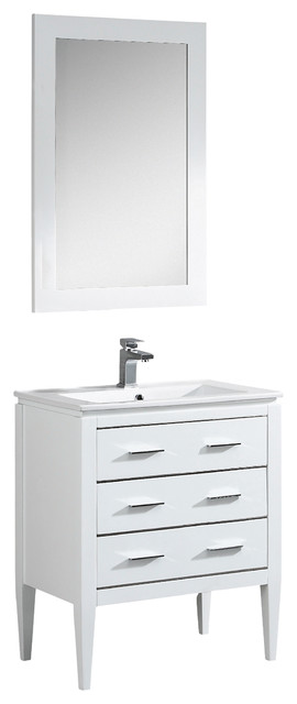 Popular Contemporary Bathroom Vanities And Sink Consoles by Fine Fixtures