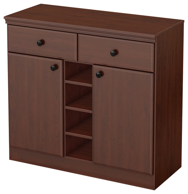 South Shore Furniture - South Shore Morgan Storage Console - View in Your Room! | Houzz