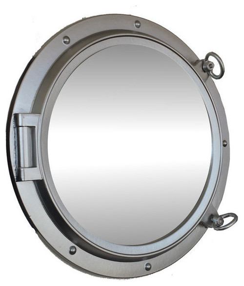 How to hang porthole mirror for Porthole style mirror