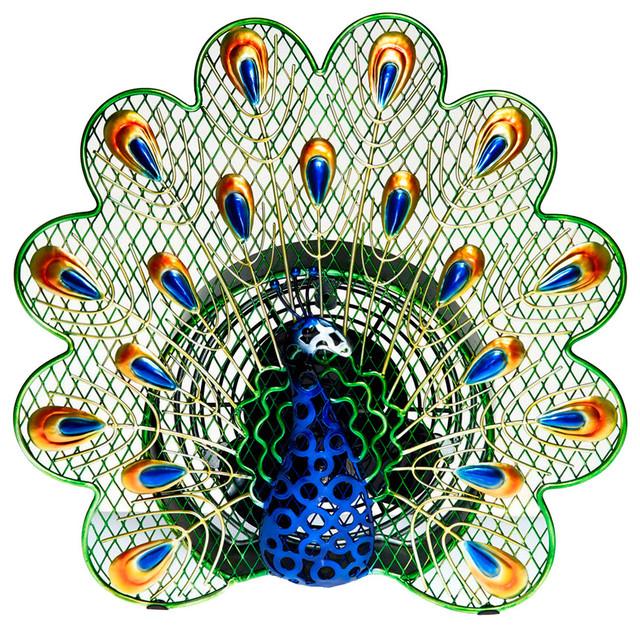 Figurine Fan, Peacock, Small.