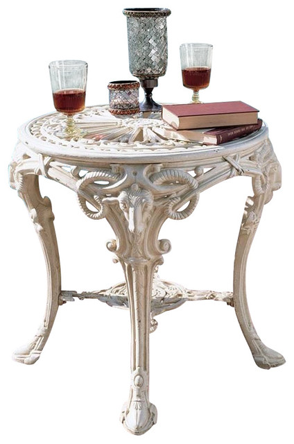 Regents Park Cast Iron Table Victorian Outdoor Side Tables By